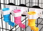 Multi Colour Animal Water Dispenser , Head PP Anti Drip Dog Cage Water Dispenser